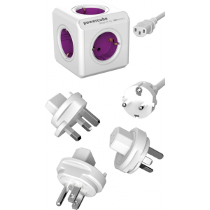 Allocacoc PowerCube ReWirable + 3x plug