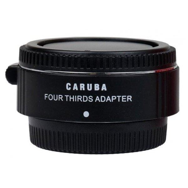 Caruba Mount Adapter Olympus Micro 4/3 - 4/3 Chroom
