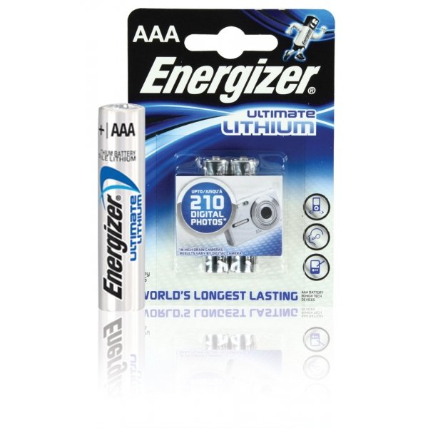 Energizer Photo Ultimate Lithium AAA/L92 (2)/(12)