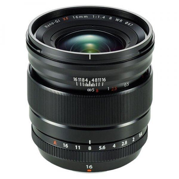 Fujifilm XF16 mm F1.4 R Wr Black