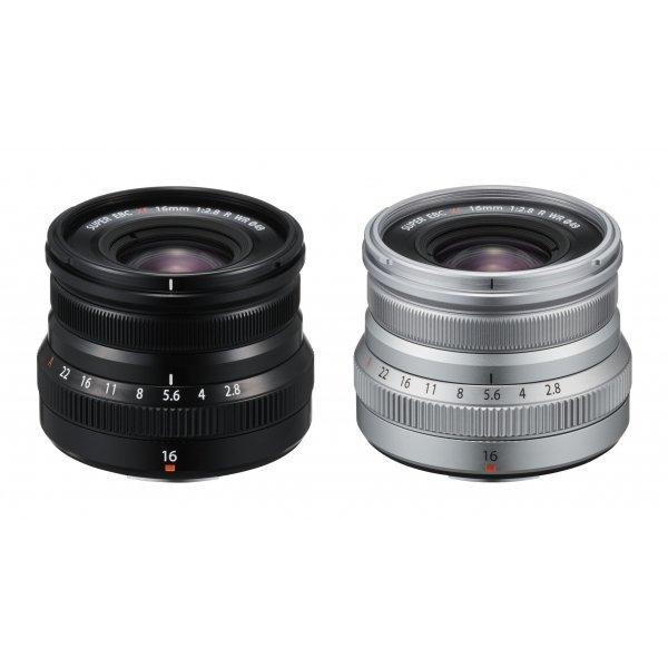 Fujifilm XF16 mm F2.8 R WR Black