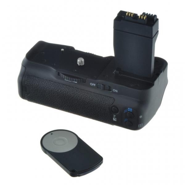 Jupio Batterygrip for Canon EOS 550D/600D/650D/700D (BG-E8)