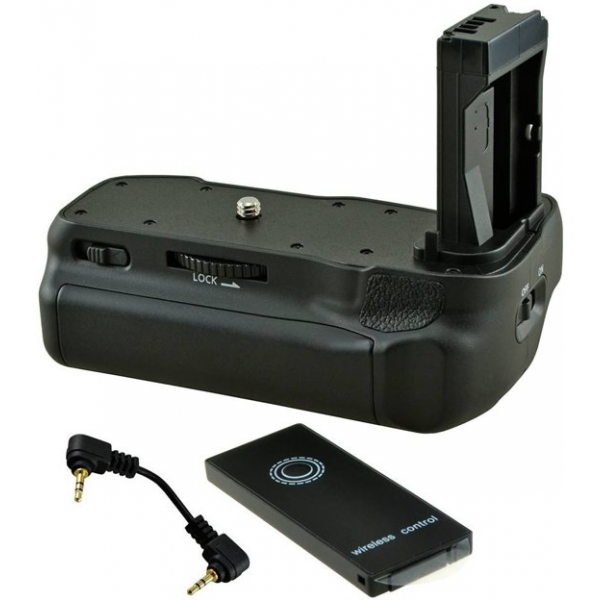 Jupio Batterygrip for Canon EOS 77D/ 800D/ 9000D + Cable