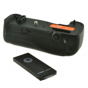 Jupio Batterygrip for Nikon D500 (MB-D17) + 2.4 Ghz Wireless