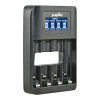 Jupio USB 4-slots Battery Fast Charger LCD