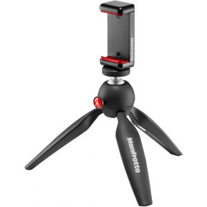 Manfrotto Mini tripod bk w/ phone clamp