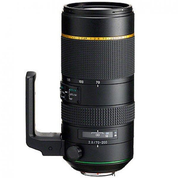 Pentax HD FA 70-200 mm/F2.8 Full Frame Zwart