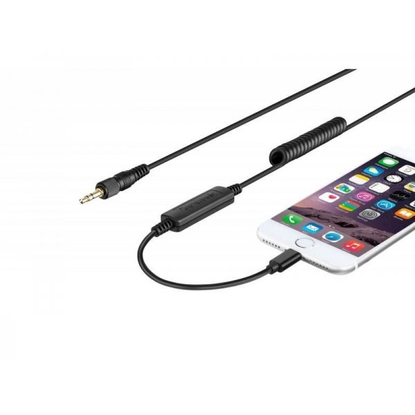Saramonic LC-C35 audio cable mini Jack 3.5 mm TRS/Lightning