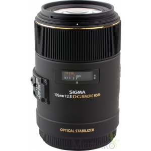 Sigma 105 mm f/2.8 EX DG Macro OS HSM Canon