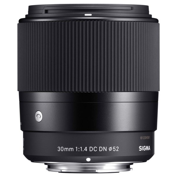 Sigma 30 mm F1.4 DC DN (C) CANON EF-M