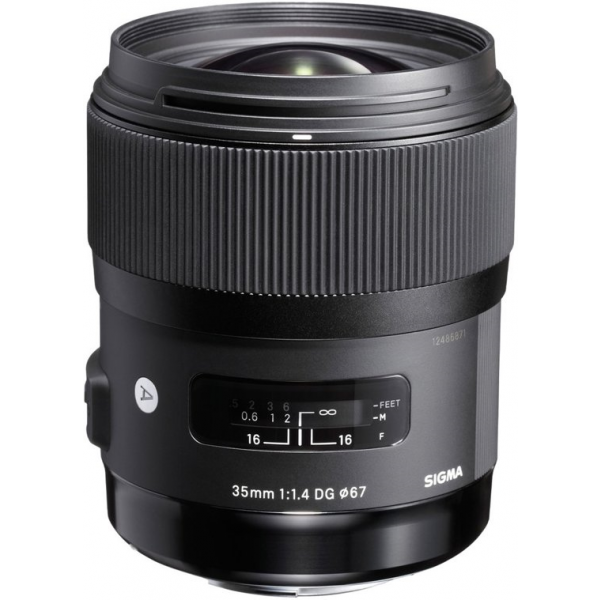 Sigma 35 mm F1.4 DG HSM (A) Nikon