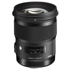 Sigma 50 mm F1.4 DG HSM (A) Nikon