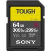 Sony ProSD Tough 18x stronger - 64GB UHS-II R300 W299 - V90