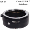 Techart Canon EF lens to Nikon Z autofocus adapter