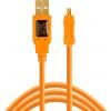 Tether Tools TetherPro USB 2.0 A Male to Micro B 5-pin oranje
