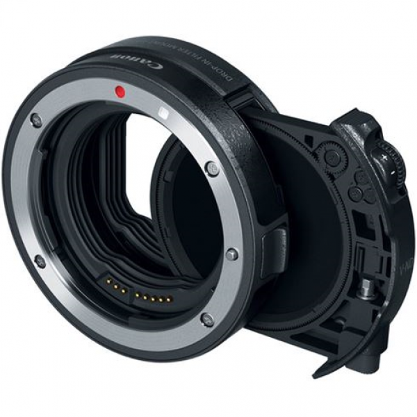 Canon Mount adapter EF - EOS R w/ drop-in var. ND-filter A