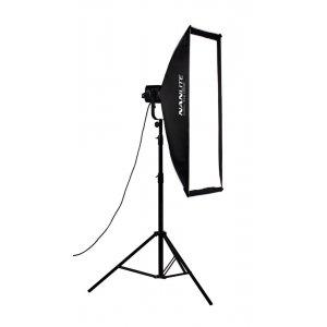 Nanlite Assymetric Softbox 110x45cm (Bowens vatting)