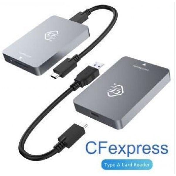 Rocketek CFexpress Card Reader USB-C CFexress Type A