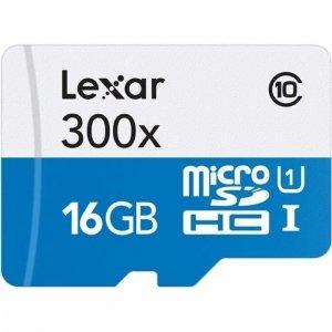 Lexar microSDHC High-Performance UHS-I 300x 16GB
