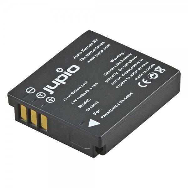 Jupio CGA-S005E / DMW-BCC12 / D-Li106 / DB-60 / DB-65 / BP-DC4 / LB-080 / NP-70 1100 mAh