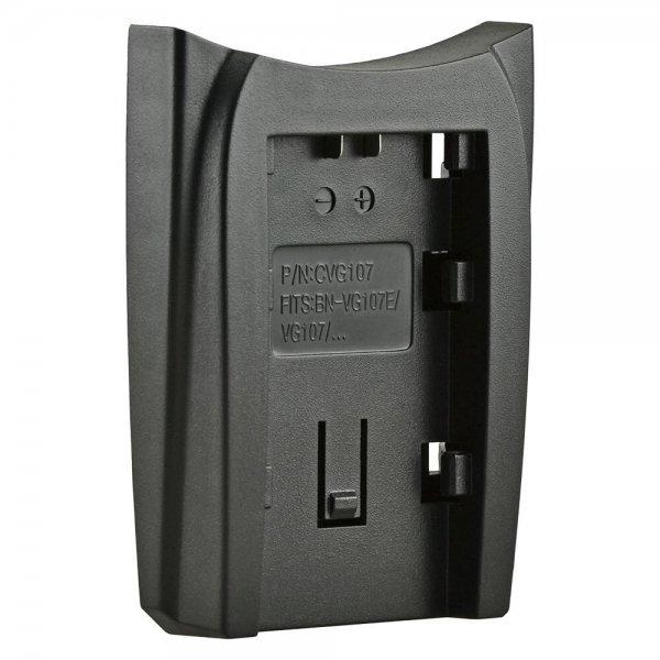 Jupio Charger Plate for JVC BN-VG107/VG108/VG114/VG121/VG138