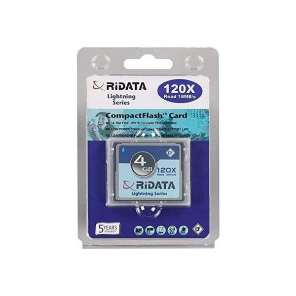 Ridata CompactFlash 4GB 120xspeed
