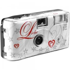 Single use Camera Flash 400 27 Love Wit