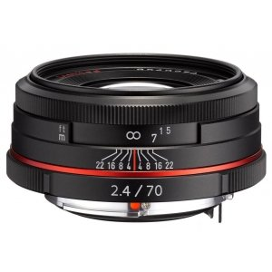 Pentax HD DA 70 mm/F2.4 zwart