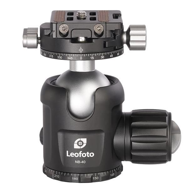 Leofoto Ballhead NB-40+NP-50 with PC